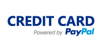 Credit card by PayPal