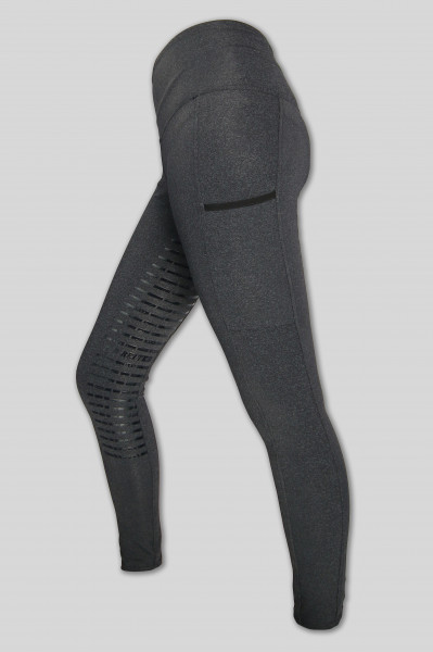 "Reitleggins ""BodyShape Grey"", grau"