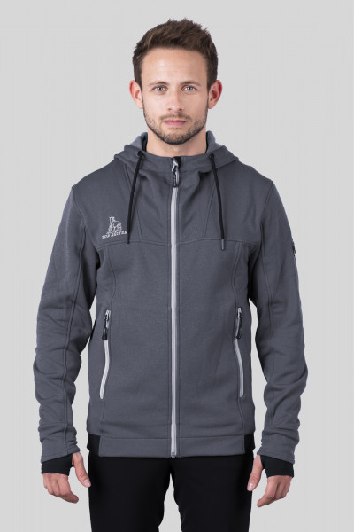"Jacket ""STORKUR"", anthracite mixed"