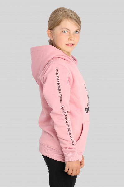 """Hoodie """"HESTUR"""", pink"""