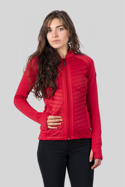 "Jacket ""HEKLA"", red mixed"
