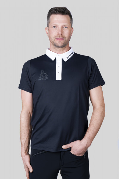 "T-Shirt ""COMPETITION, Men, black/white"
