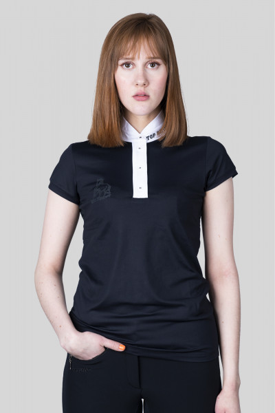 "T-Shirt ""COMPETITION, Women, black/white"