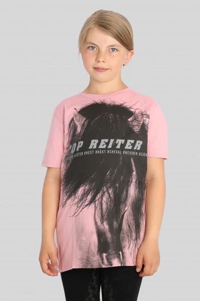 "T-Shirt ""HESTUR"", pink"