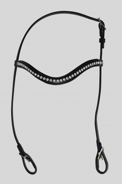 "Headstall ""KRISTALL"", silver"
