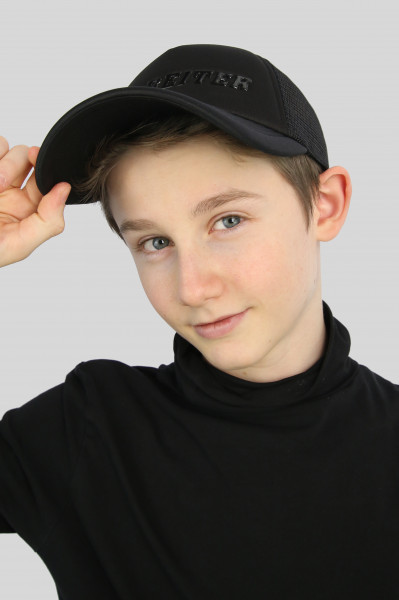 "MESH CAP ""NÓI"", schwarz"