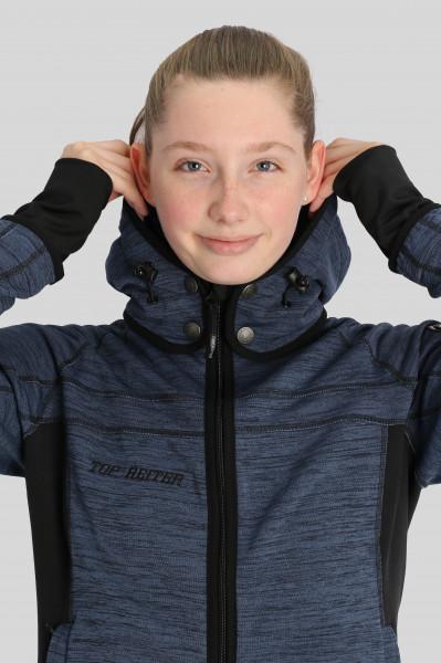 "Jacket ""PERLA"" blue"