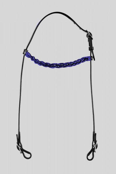 "Headstall ""FLÉTTA"", blue"