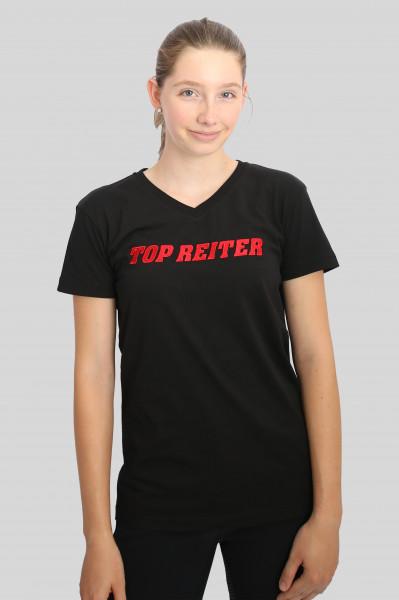 """T-Shirt """"VON"""", schwarz"""